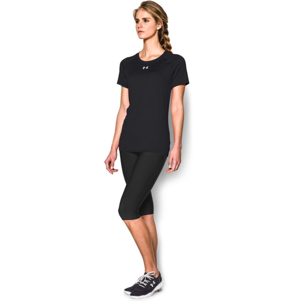 Under Armour Women's Black S/S Locker Tee