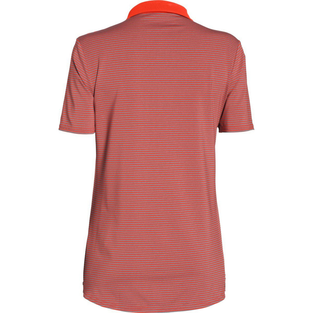 Under Armour Women's Dark Orange Clubhouse Polo