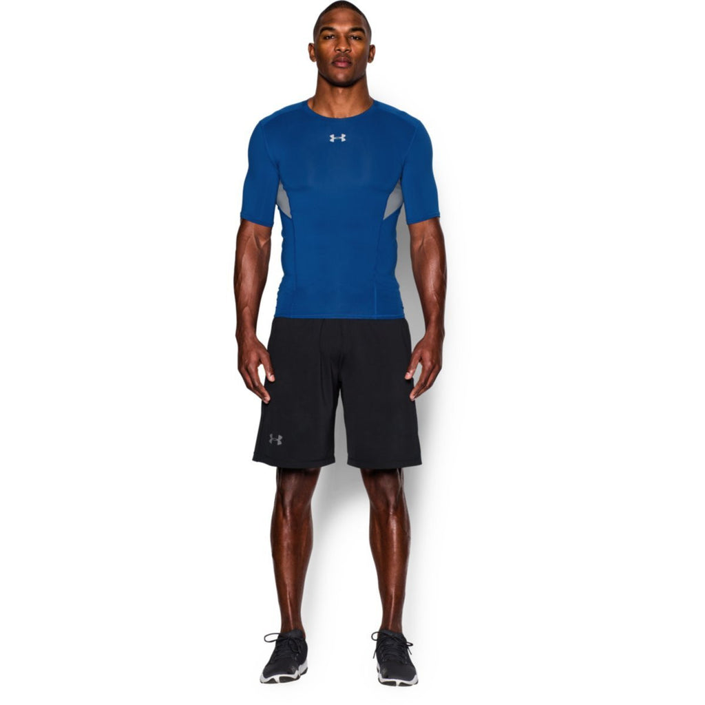 Under Armour Men's Royal HG CoolSwitch Comp Short Sleeve T-Shirt