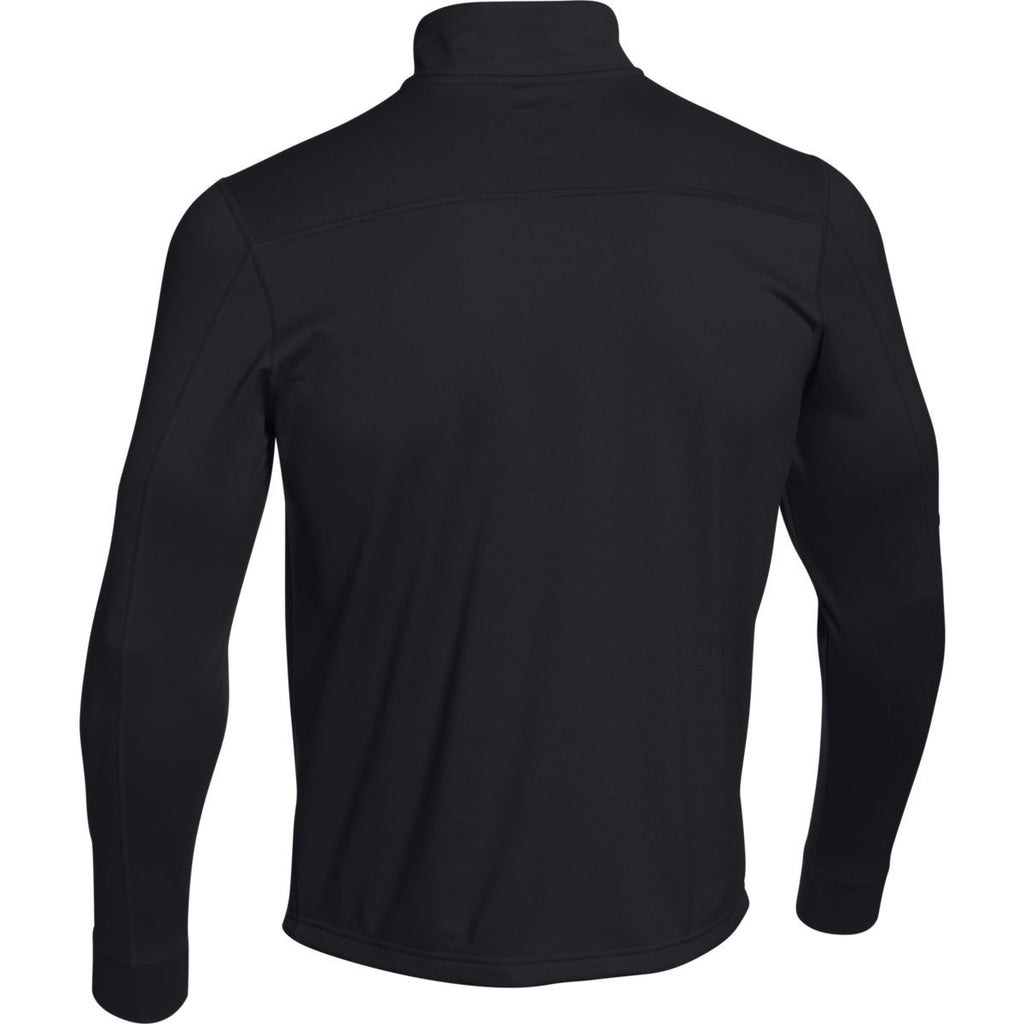 Under Armour Men's Black Qualifier Novelty 1/4 Zip