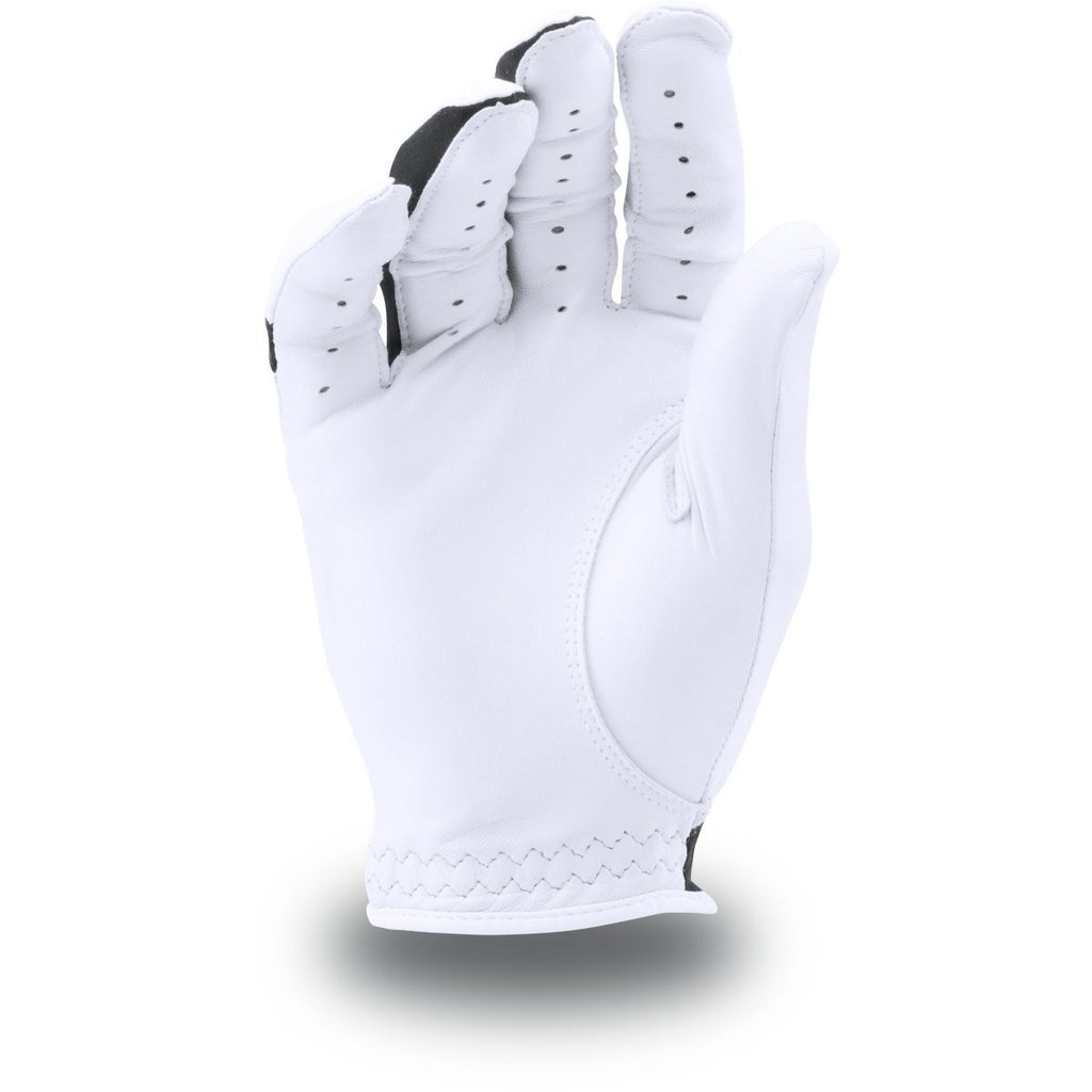 Under Armour White/Black CoolSwitch Golf Glove