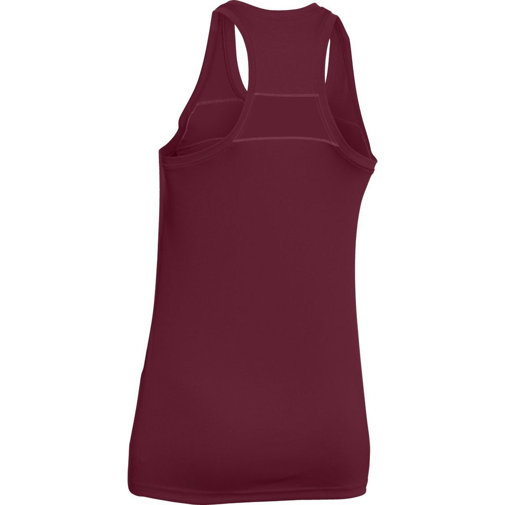 Under Armour Women's Maroon UA Matchup Tank