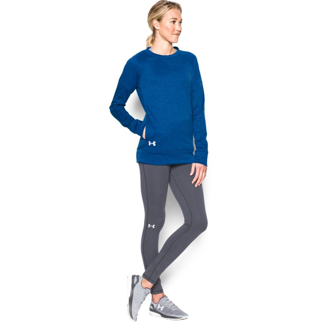 Under Armour Women's Royal Novelty Armour Fleece Crew