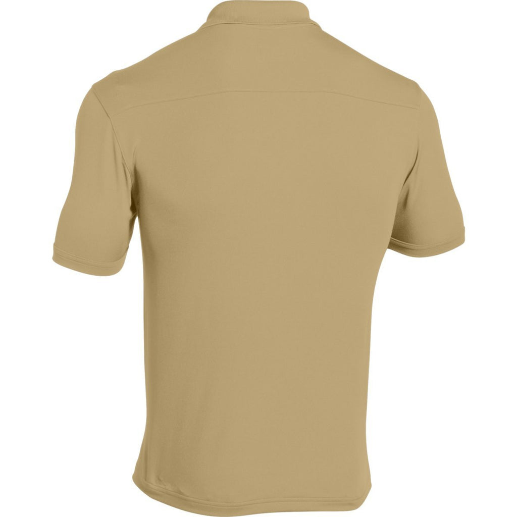 Under Armour Men's Vegas Gold Team Armour Polo