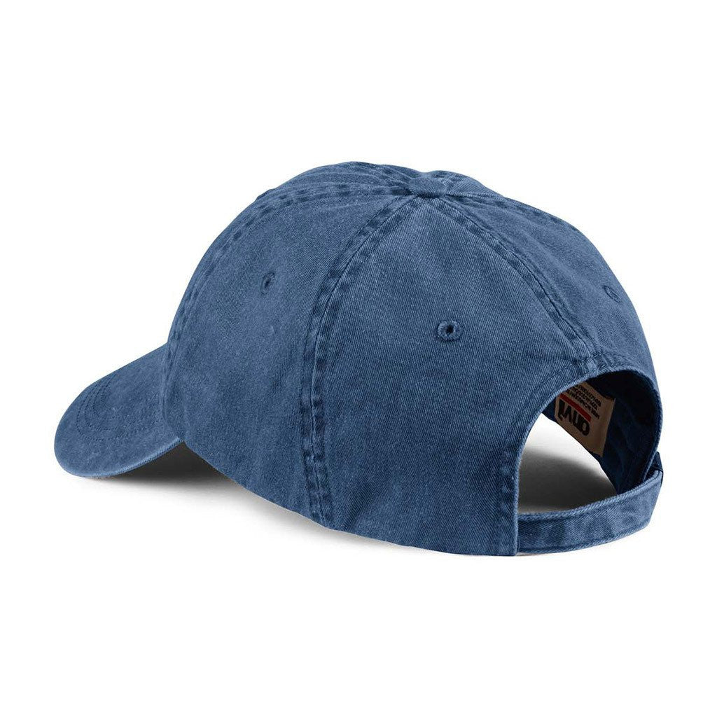 Anvil Navy Solid Low-Profile Pigment-Dyed Cap