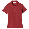 nike-womens-red-basic-polo