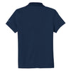 Nike Women's Navy Dri-FIT S/S Pique II Polo
