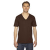 2456-american-apparel-brown-v-neck