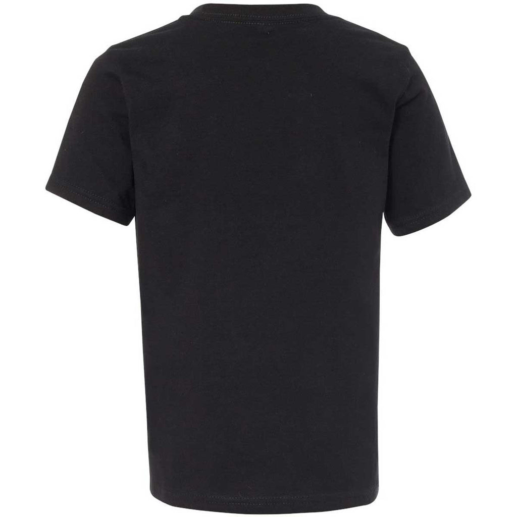 Next Level Boy's Midnight Navy Premium Short-Sleeve Crew Tee
