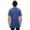 Anvil Men's Heather Blue 3.2 oz. Featherweight Short-Sleeve T-Shirt