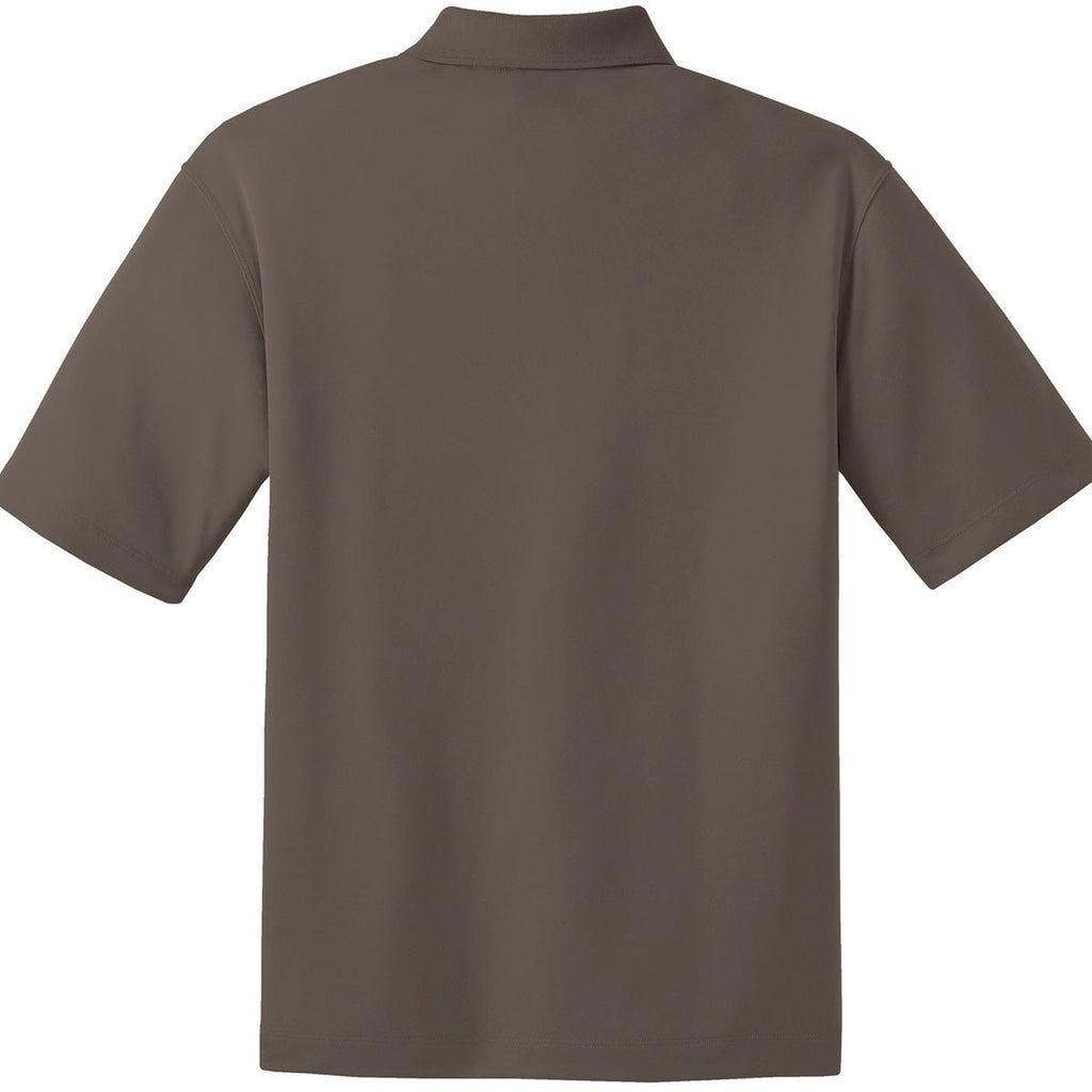 Nike Men's Brown Dri-FIT S/S Micro Pique Polo