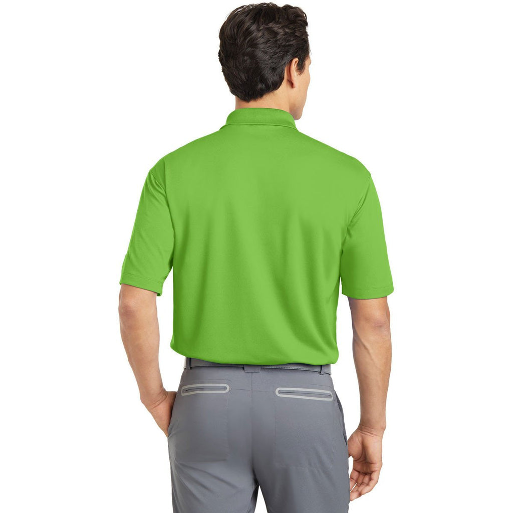 Nike Men's Mean Green Dri-FIT S/S Micro Pique Polo
