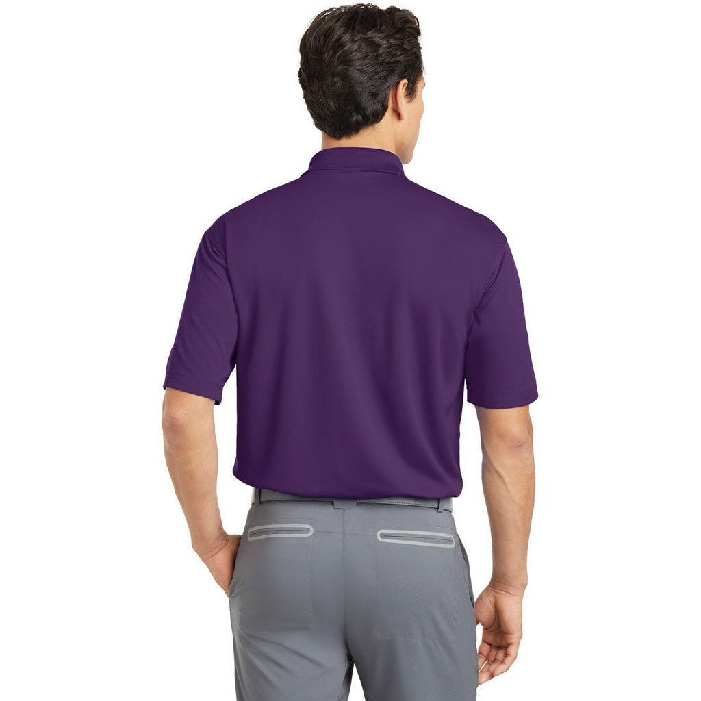 Nike Men's Purple Dri-FIT S/S Micro Pique Polo