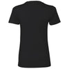 Next Level Women's Black Boyfriend Tee