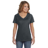 392a-anvil-women-charcoal-t-shirt