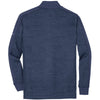 Nike Men's Obsidian Heather/Obsidian Solid Dri-FIT L/S Quarter Zip Shirt
