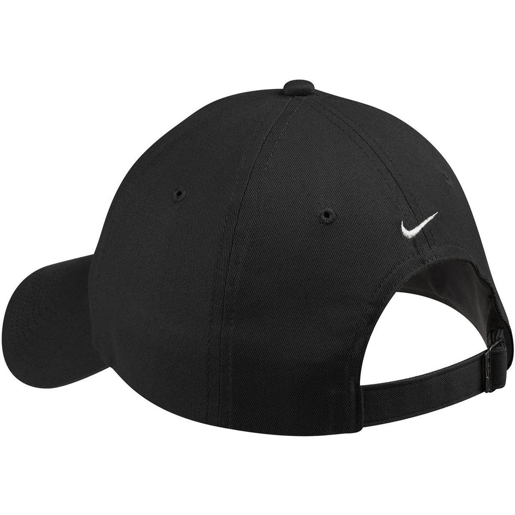 Nike Deep Black Unstructured Twill Cap