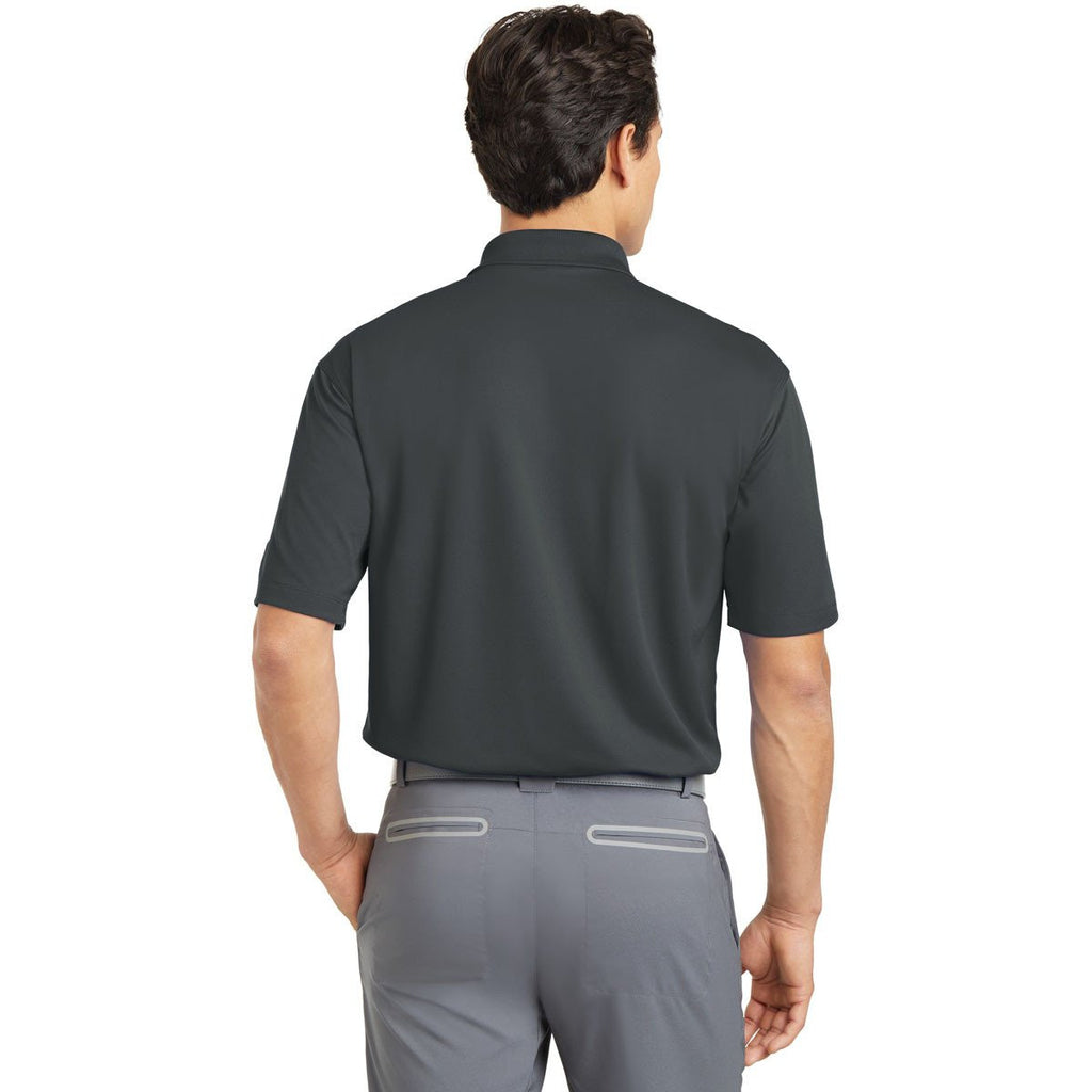 Nike Men's Tall Dark Grey Dri-FIT S/S Micro Pique Polo