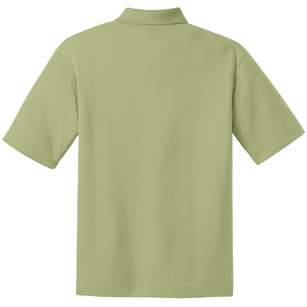 Nike Men's Tall Light Green Dri-FIT S/S Micro Pique Polo