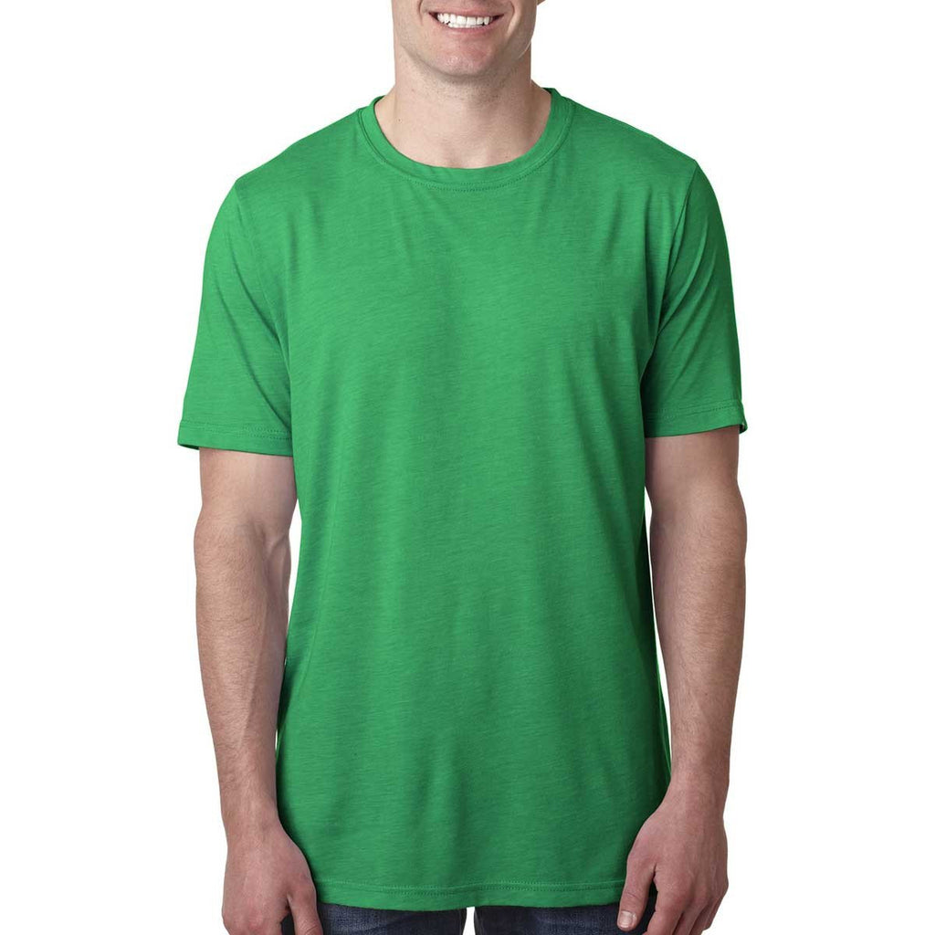 Next Level Men's Envy Poly/Cotton Short-Sleeve Crew Tee