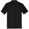 Nike Men's Black Dri-FIT S/S Vertical Mesh Polo