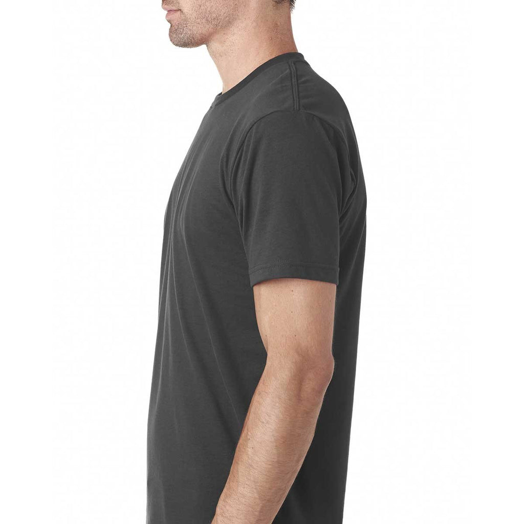 Next Level Men's Heavy Metal Premium Fitted Sueded Crew