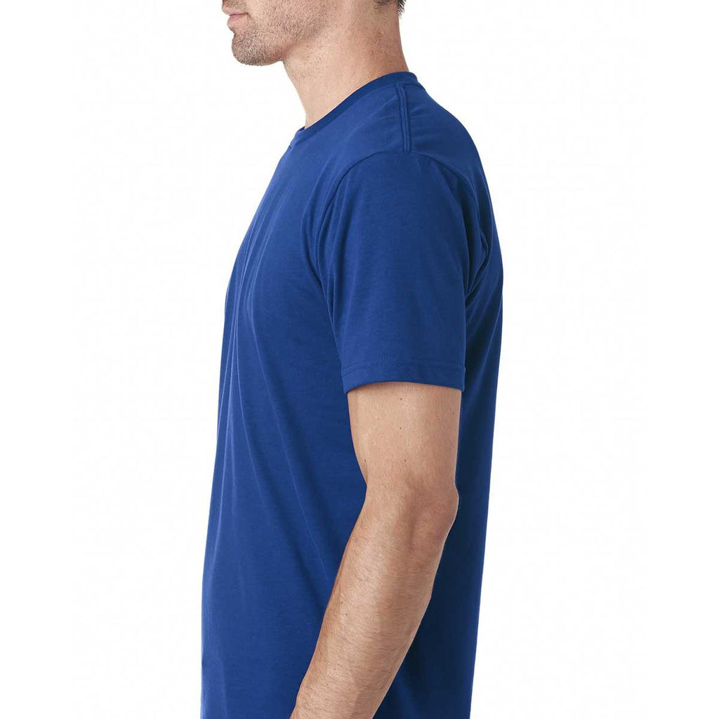 Next Level Men's Royal Premium Fitted Sueded Crew