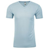 6440-next-level-light-blue-v-neck-tee