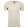 6440-next-level-beige-v-neck-tee
