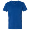 6440-next-level-royal-blue-v-neck-tee