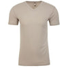 6440-next-level-tan-v-neck-tee