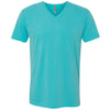 6440-next-level-baby-blue-v-neck-tee