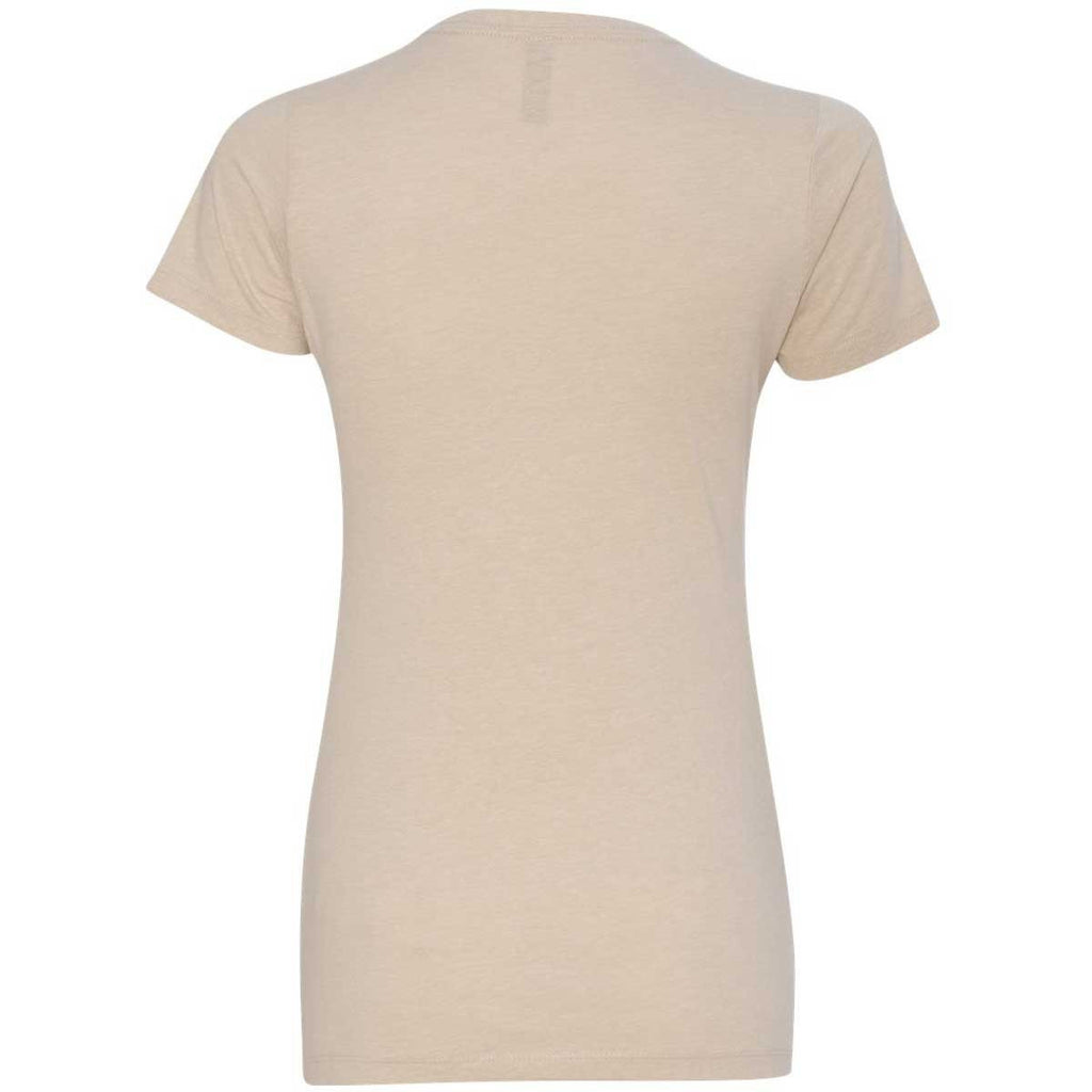 Next Level Women's Cream CVC Crew Tee