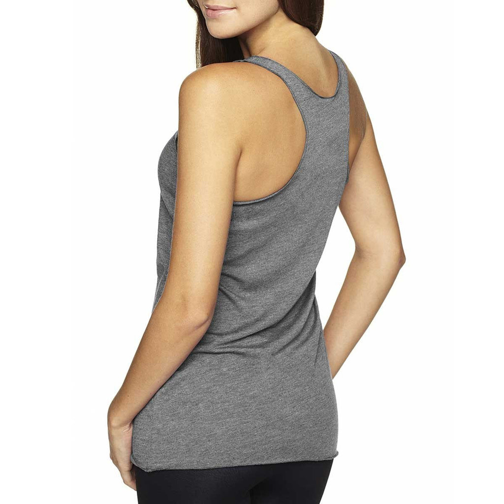 Next Level Women's Premium Heather Triblend Racerback Tank