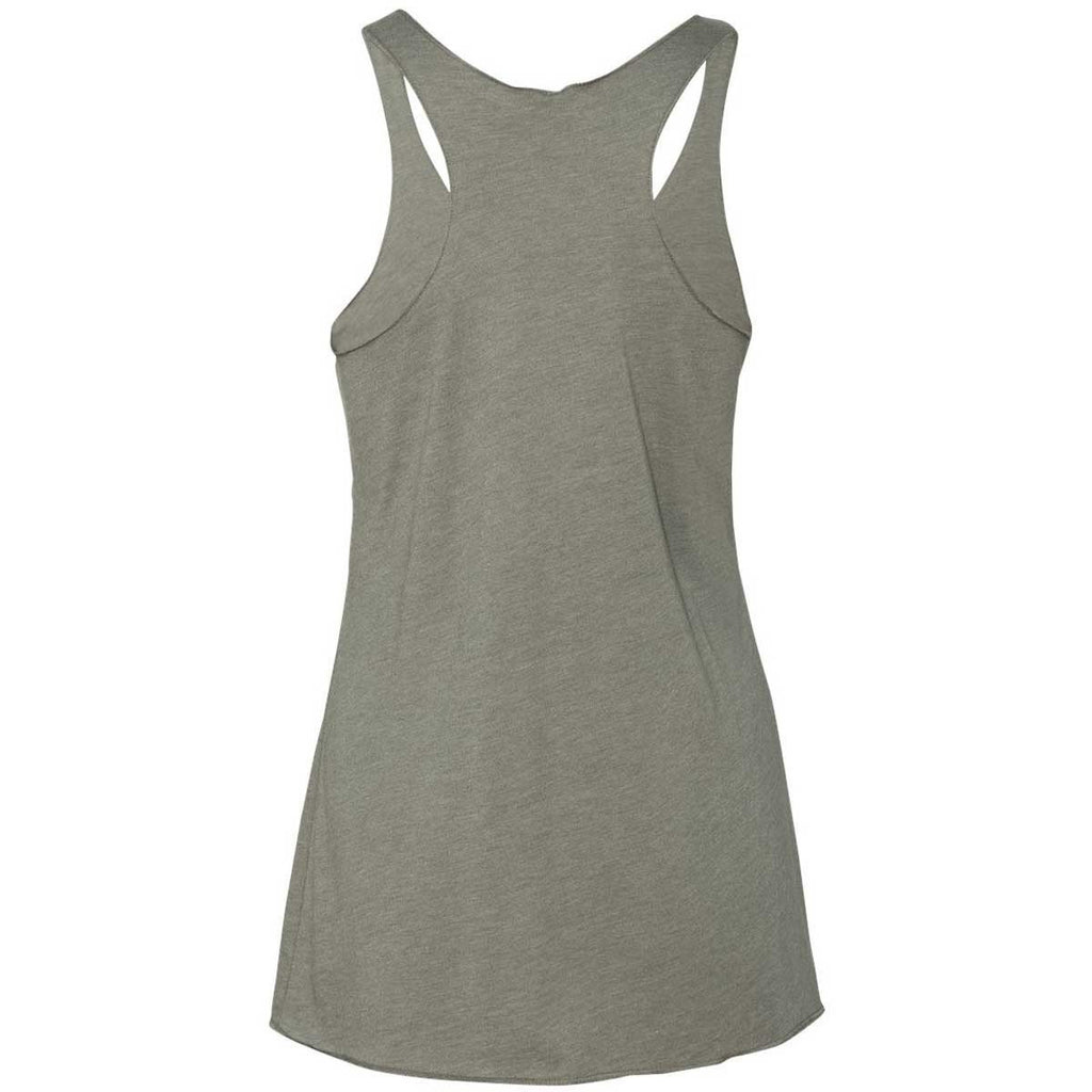 Next Level Women's Venetian Gray Triblend Racerback Tank