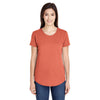 6750l-anvil-women-brown-t-shirt