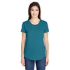 6750l-anvil-women-teal-t-shirt