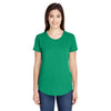 6750l-anvil-women-green-t-shirt