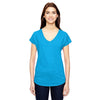 6750vl-anvil-women-turquoise-t-shirt