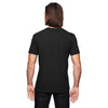 Anvil Men's Black Triblend V-Neck T-Shirt