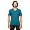 6752-anvil-teal-v-neck-tee