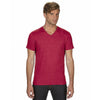 6752-anvil-red-v-neck-tee