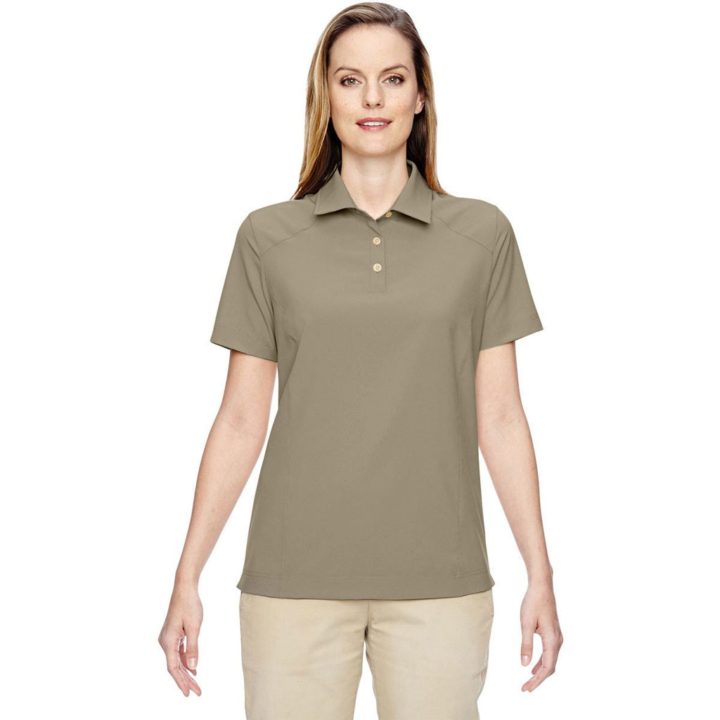 North End Women's Stone Excursion Crosscheck Woven Polo