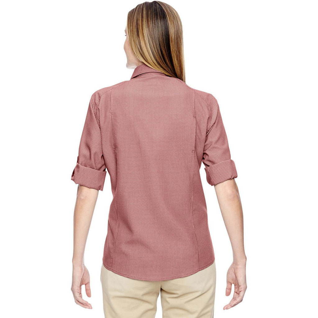 North End Women's Rust Excursion F.B.C. Textured Performance Shirt