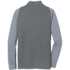 Nike Men's Dark Grey/Chartreuse Dri-FIT Stretch 1/2-Zip