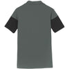 Nike Men's Anthracite/Black Dri-FIT Colorblock Polo