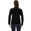 North End Women's Black Three-Layer Fleece Bonded Performance Soft Shell Jacket