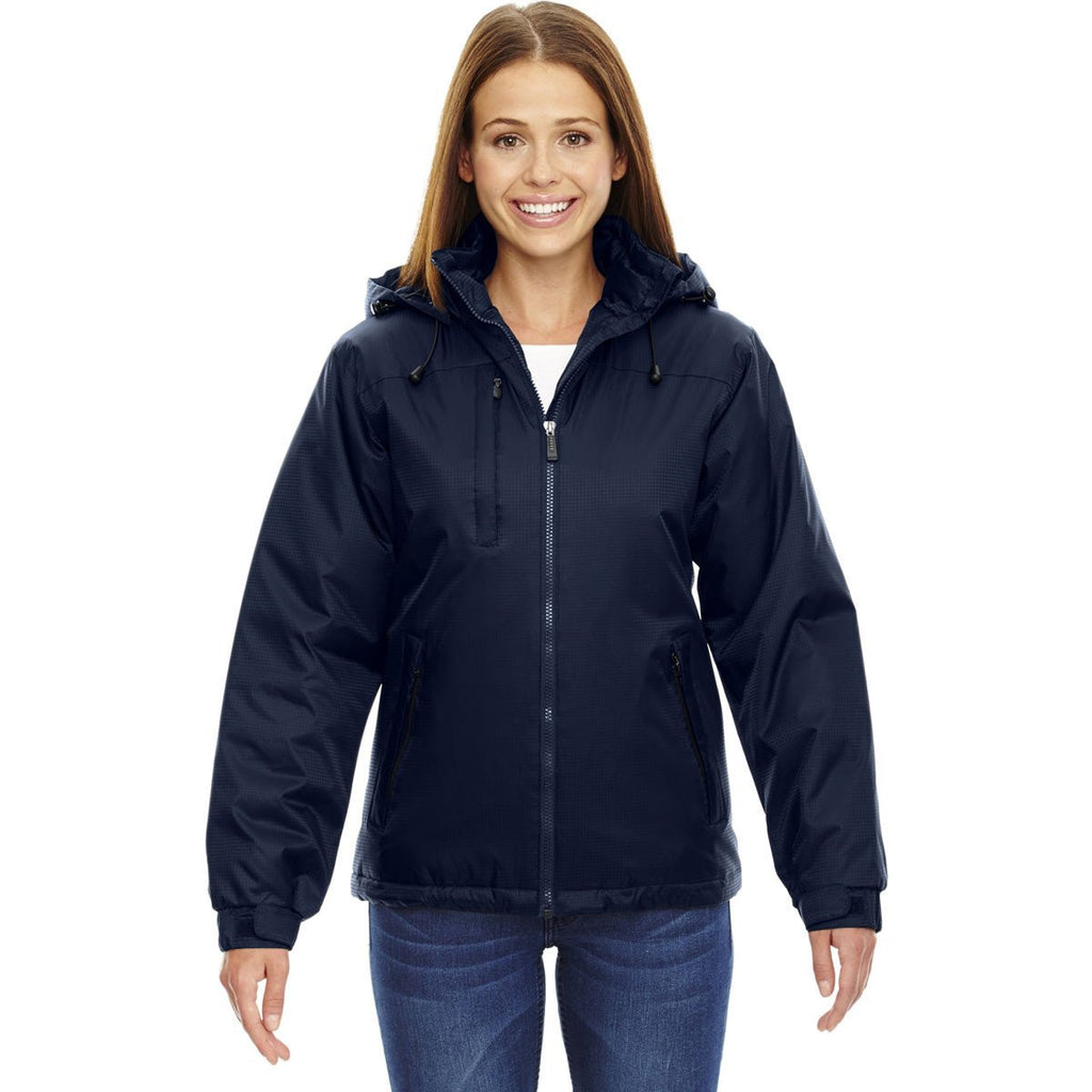 North End Women's' Midnight Navy Insulated Jacket