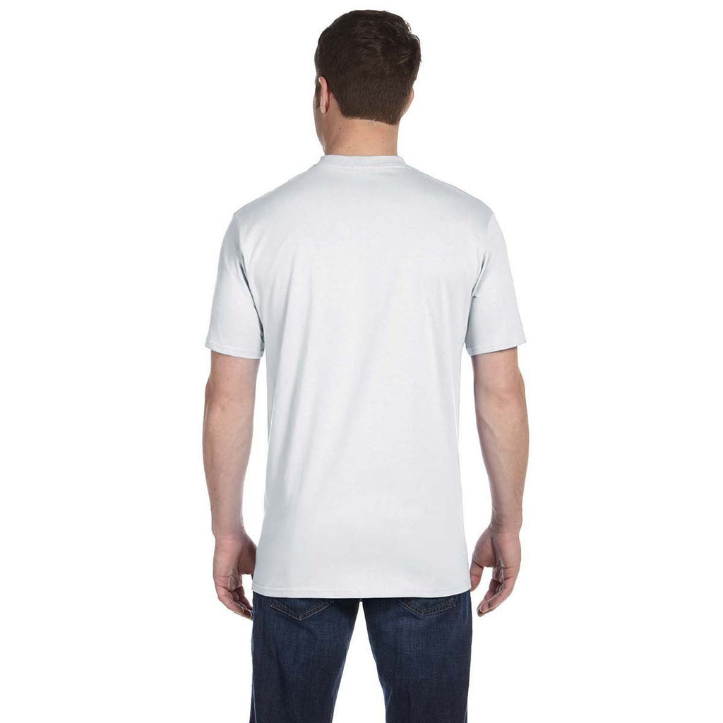 Anvil Men's White Midweight T-Shirt