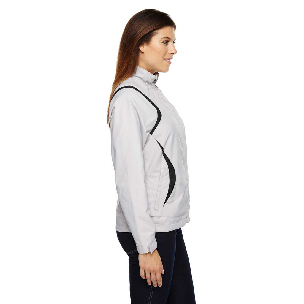North End Women's Grey Frost Venture Mini Ottoman Jacket